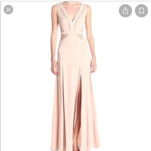 BCBG pink Sophie gown